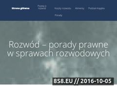 Miniaturka domeny rozwody-adwokat.pl
