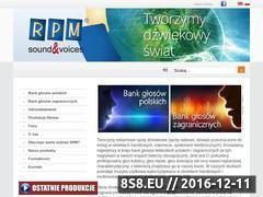 Miniaturka domeny www.rpm.pl