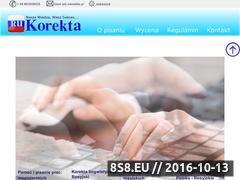 Miniaturka rukorekta.pl (Pomoc i pisanie prac z filologii rosyjskiej)