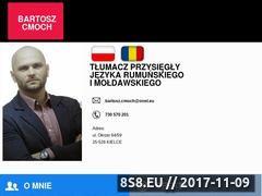 Miniaturka www.rumunski-tlumacz.pl (Tłumaczenia rumuński i mołdawski)