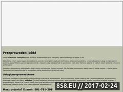 Miniaturka domeny www.rutkowski-transport.pl