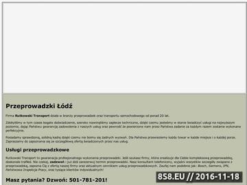 Zrzut strony Przeprowadzki w Łodzi