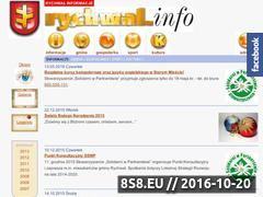 Miniaturka domeny rychwal.info