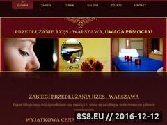 Miniaturka domeny www.rzesy-przedluzanie.pl
