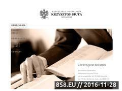 Miniaturka domeny rzeszow-notariusz.pl