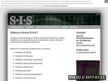 Zrzut strony Świadectwa energetyczne Nowy Sącz, Zakopane, Szczawnica