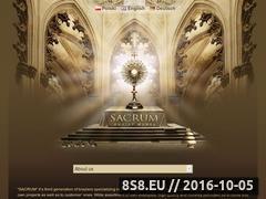 Miniaturka domeny sacrum.com.pl