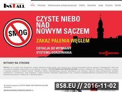 Miniaturka domeny www.saczbezsmogu.pl