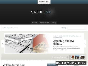 Zrzut strony Mieszkania Wejherowo - Sadbik.pl