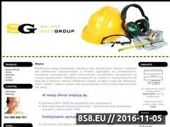 Miniaturka domeny safegroup.dbv.pl