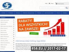 Miniaturka Internetowy sklep meblowy (sagameble-sklep.pl)