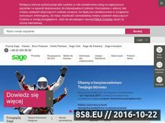 Miniaturka domeny www.sage.com.pl