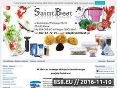 Miniaturka domeny www.saintbest.pl