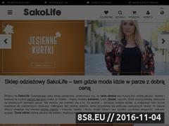 Miniaturka domeny www.sakolife.pl