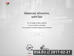 Miniaturka salamanders.pl (Grafika komputerowa, strony WWW i branding)