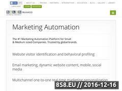 Miniaturka domeny www.salesmanago.pl