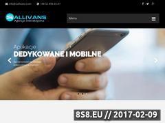 Miniaturka domeny www.sallivans.com