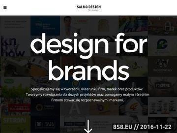 Zrzut strony Agencja Reklamowa Toruń   Reklama Toruń   Salmo Design