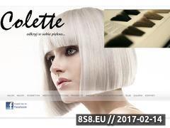 Miniaturka domeny www.saloncolette.pl