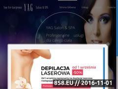 Miniaturka salonyag.pl (Depilacja laserowa, SPA, fryzjer i kosmetyczka)