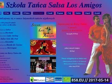 Zrzut strony Szkoła Tańca Katowice