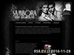 Miniaturka domeny www.sambora.pl