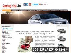 Miniaturka domeny www.samochody-z-usa.info