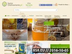 Miniaturka domeny www.samouzdrawianie.eu