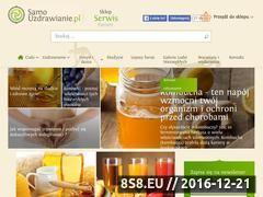 Miniaturka domeny www.samouzdrawianie.pl