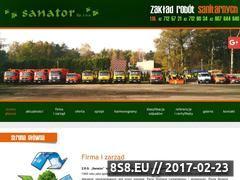 Miniaturka domeny www.sanator.pl