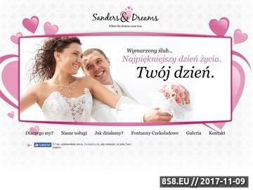Zrzut strony Organizacja ślubów