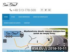 Miniaturka domeny sankidrewniane.pl