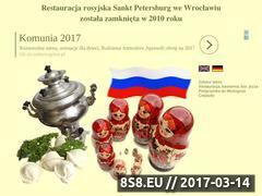 Miniaturka domeny www.sanktpetersburg.pl