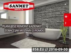 Miniaturka domeny www.sanmet.pl