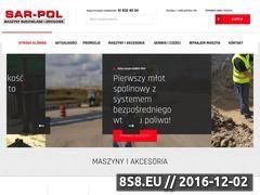 Miniaturka domeny www.sar-pol.eu