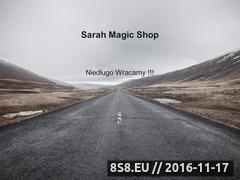 Miniaturka sarahmagic.com (Sarah Magic - sklep ezoteryczny)