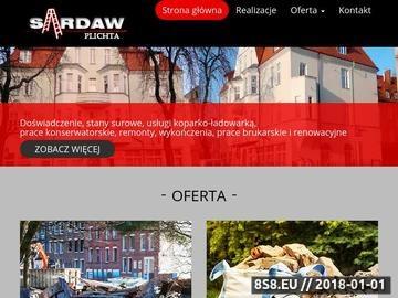 Zrzut strony Wywóz odpadów Gdańsk - FHU Sardaw