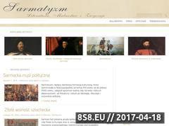 Miniaturka domeny www.sarmatyzm.pl