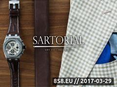 Miniaturka Sartorial - garnitur szyty na miarę (sartorialgroup.com)