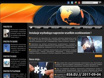 Zrzut strony SAT-SYSTEM CYFRA+ anteny naziemne, satelitarne, telewizja, multimedia, pay-tv