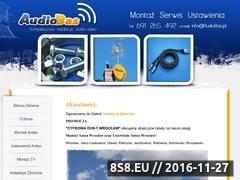 Miniaturka domeny www.sat.audiobas.pl