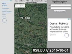 Miniaturka Mapa satelitarna (satelitarnamapapolski.pl)