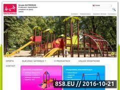 Miniaturka domeny www.saternus.pl