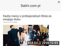 Miniaturka domeny www.satini.com.pl