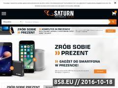 Miniaturka domeny www.saturn.pl