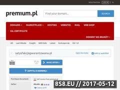 Miniaturka domeny satysfakcjagwarantowana.pl