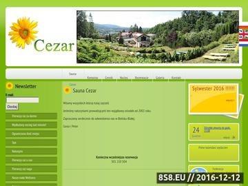 Zrzut strony Wypoczynek naturystyczny - Sauna Cezar Bielsko Biała - rekreacja naturystyczna