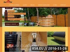 Miniaturka domeny www.saunadrewniana.pl