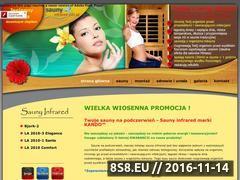 Miniaturka domeny saunyinfrared.net.pl