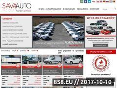 Miniaturka savaauto.eu (Wypożyczalnia samochodów Savaauto)